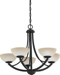 patriot lighting amelia 25 tannery bronze 5 light chandelier at menards