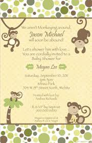 baby shower invitations free templates monkey baby shower invitations templates free theruntime com