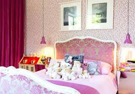 Pink Girl Bedroom A Shabby Chic Glam Girls Bedroom Design Idea In ...