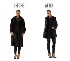 recycle old fur fashion remodelling fur coat mano swartz