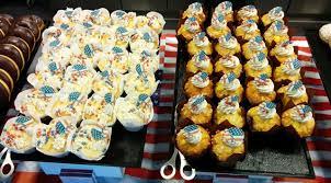 google zurich office. google zurich july 4th cupcakes office