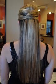 Hair Style For Straight Hair simple bridesmaid hairstyle for wedding long straight hair 3921 by wearticles.com