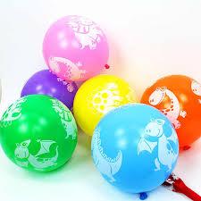 <b>10pcs</b> Green <b>Dinosaur</b> Dots <b>Latex</b> Balloons <b>Dinosaur</b> Jungle ...