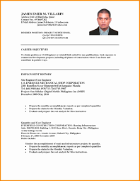 Resume For Ojt It Students Objective Psychology