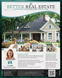 real estate flyer templates better real estate flyer template design bookmarks pinterest