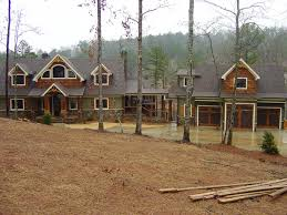 Rustic Mountain House Plan 3 Car Garage Banning