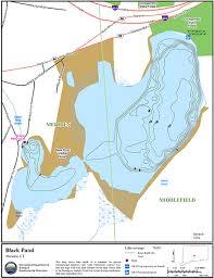 Wordens Pond Depth Chart Black Pond Meriden Map Northeastbass
