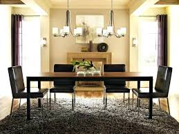 chandelier height above table gorgeous dining room chandelier height dominated brown and peach l light fixture chandelier height