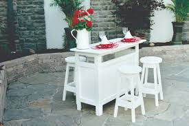 white outdoor furniture. Outdoor Bar - White Furniture