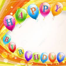 Happy Birthday Background Images Happy Birthday Background With Balloons Royalty Free Cliparts
