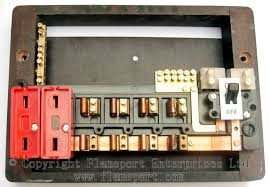 wylex standard fuseboxes, part 2 replacing rewirable fuses with circuit breakers at How To Change A Fuse In A Wylex Fuse Box