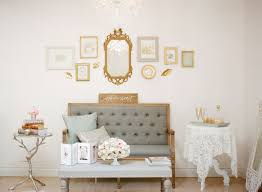 vintage shabby chic inspired office. Parisienne Inspired Office Tour | Dream Studio, Studio Design, Interior Gallery Wall, Vintage Furniture, Paris, Gold Frame, Vintage, Office, Shabby Chic E