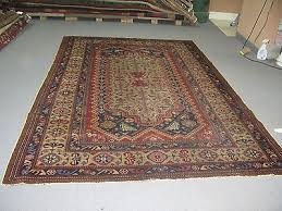 antique agra amritsar india hand knotted wool rug 6 3 x