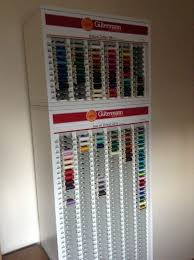 Gutermann Thread Display Stand Simple Gutermann Sewing Thread Shop Display Haberdashery Cabinet In