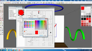 Vray Neon Light Tutorial Sketchup Emissive Light Neon Light Tutorial Youtube