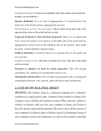 Financial Statement Cover Letter A Project Report On Analysis Of Financial Statement Of Icici