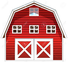 red and white barn doors. Red Barn Door Clipart #1 And White Doors O