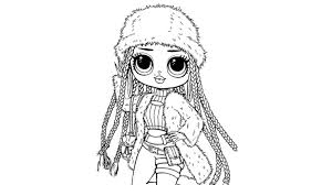 Gather the entire collection of beautiful lol dolls. Coloring Pages Lol Omg Download Or Print For Free