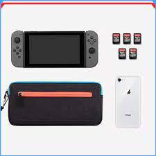 Túi Đựng Máy Chơi Game Nintendo Switch WiWU Switch Soft Case Màu Xám chính  hãng