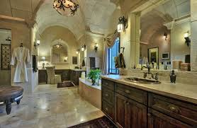 mansion master bathrooms. Plain Master Brown Master Bathroom With Limestone Tile Rustic Wood Vanity Copper  Sink And Hardware Inside Mansion Master Bathrooms E