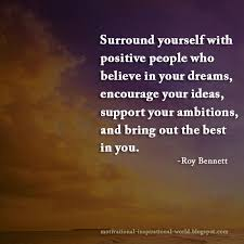 Positive People Quotes Impressive Team Inspiringthinkn Surround Yourself With Positive People Who
