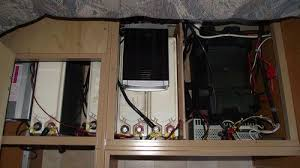 caravan modifications western wanowandthen com the standard jayco swan comes a single battery and built in charger for our needs this is not sufficient and as the standard battery is lead acid we