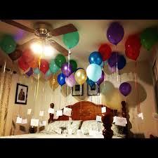 is birthday decoration ideas for husband at home any good