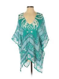Mud Pie Women S Size Chart Details About Mud Pie Women Green 3 4 Sleeve Blouse One Size