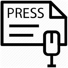 Image result for press release sign