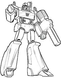 Coloring Transformers Prime Coloring Pages Picture For Kids