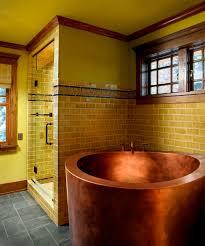 copper japanese soaking bath 42 round