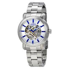 invicta watches jomashop invicta vintage objet d art automatic silver dial men s watch