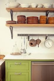 wall mounted wood kitchen shelves