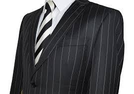 Mens Designer Suits Uk Men S Luxury Wool Designer Pinstripe Suit By Robert Sherwood