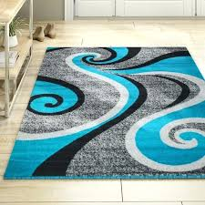 rick grey turquoise indoor area rug and design its
