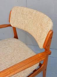 mid century danish modern erik buch dining chair set of six 4