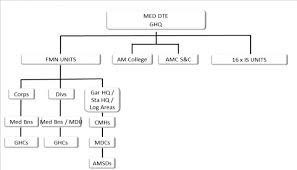 Pakistan Army Organization Chart Almanac Pakistan Islamic Republic Of Military Medicine