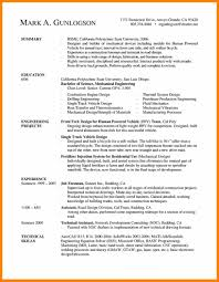 Mechanical Engineering Cv Format .resume Format In Word File For ...