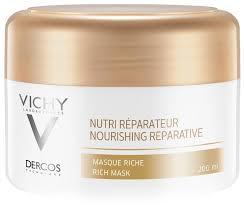 Vichy DERCOS Питательно-<b>восстанавливающая маска для волос</b>