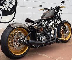 brass balls gold digger from bike kit to bike sleek at cyril