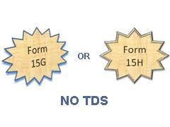 Form No 15G