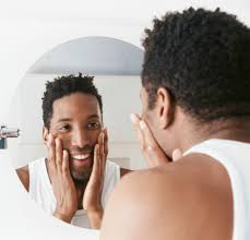 looking in mirror. looking in the mirror a