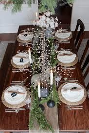DIY Christmas Tablescape