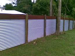 Corrugated Metal Privacy Fence Nanas Workshop