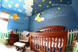 sun and moon nursery star