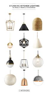 lighting island. stunning kitchen lighting make an impact in your kitchen with any of these beautiful pendant lights lighting island