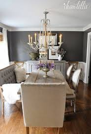 grey dining room table with bench favorite things friday dear lillie of grey dining room table