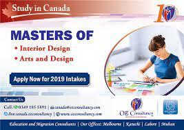 masters in interior design canada