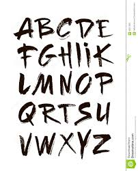 Designs Of Letters Ofthe Alphabet Hand Drawn Alphabet In Retro Style Abc For Your Design