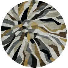round gray rug 8 round rugs hand tufted contemporary abstract round rug 8 round grey 8 round gray rug